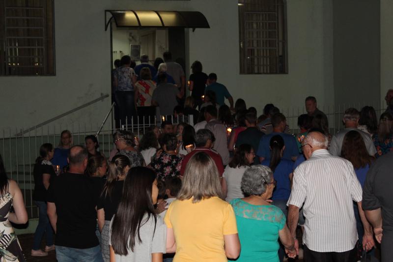 Caminho das Luzes movimenta comunidade giruaense